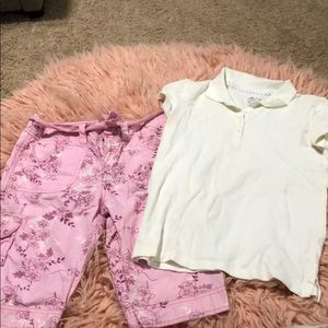 Casual flower outfit